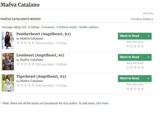 Nouveautés sur goodreads!