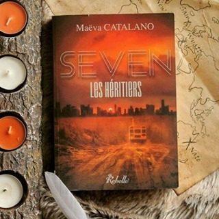 Avis de Lecteurs ! 📚 Aujourd'hui je reviens avec la photo de Madelyn, @livres.enchantes , et son avis sur S.E.V.E.N. : les héritiers! 7️⃣