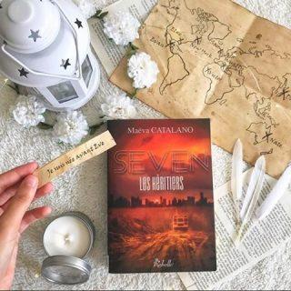 Repost @muffinsandbooks 📚 7️⃣Vous avez succombé à l'appel de S.E.V.E.N : les héritiers et des élus aux sept péchés capitaux? Il est encore temps! Que faites vous ce dimanche? Lecture, séries, écriture?📺 Bonne fin de week-end! 😊 #maevacatalano #maevaecrit #seven #sevenleshéritiers #dystopie #dystopia #sf #instalivre #instalecture #bloglitteraire #lectureaddict #autoedition #bookstagrammer #lecture #bookstagramfrance #aesthetic #bookaddiction #lectureaddict #litteraturefrancaise #bookboyfriend #bookaholic #lecturedumoment