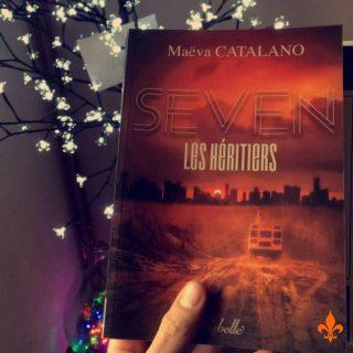 Alors ce premier week-end du nouvel an ?💤 🛌C'est plutôt couette et Netflix ou couette et Disney + ? (Bon j'imagine que pour la plupart c'est couette et lecture, okay...) Merci à Valentin pour la photo de S.E.V.E.N : les héritiers ! Elle commence à dater mais je la trouve toujours aussi jolie (et j'adore poster vos photos.)🧡 Bonne fin de week-end et bon repos! #maevacatalano #maevaecrit #seven #sevenleshéritiers #dystopie #dystopia #sf #instalivre #instalecture #bloglitteraire #lectureaddict #autoedition #bookstagrammer #lecture #bookstagramfrance #aesthetic #bookaddiction #lectureaddict #litteraturefrancaise #bookboyfriend #bookaholic #lecturedumoment #citation #roman #autrice #auteure