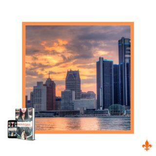 Sauras-tu reconnaître cette ville ⁉️  ⚠️ Ne triche pas !   Il s'agit de Détroit, où se déroule l'action d'Amitchigan. Dans cette chicklit, on rencontre Gyver, une barmaid, et Mitchell, un Amish et témoin clef d'une affaire. 👮  🗺️ J'aime beaucoup explorer différentes villes et pays en écrivant. Lire et voyager c'est le pied, non ? Sur le papier, Détroit n'est pas la ville qui fait le plus rêver. Pourtant, j'ai adoré écrire les aventures de Gyver et Mitchell au Michigan !  Retrouve Amitchigan sur ma boutique ou en DM 🤠  #maevacatalano #maevaecrit  #amitchigan #sharonkena #editionssharonkena #sharonkenaeditions #gyversamuels #mitchellroseagan #amish #michigan #usa #unitedstates #detroit #book #romance #comédieromantique #chicklit #instalivre #instalecture #bloglitteraire #lectureaddict #bookstagramfrance #bookaddiction #lectureaddict #litteraturefrancaise  #lecturedumoment #roman #autrice #auteure