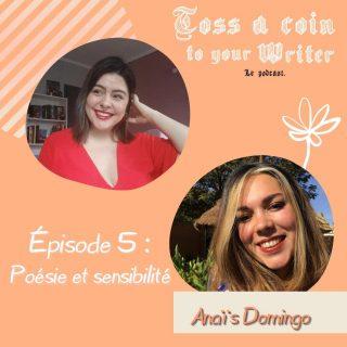 Annonce de l'invitée du mois ! 🎉  📚Déjà l'épisode 5 ! On se voit (ou s'écoute) dans deux jours avec un nouveau numéro de #TossACoinToYourWriter! Notre invitée du mois est très chère à mon cœur puisqu'il s'agit d'Anaïs Domingo (alias @nanarouault), une amie proche.   Merci encore à Anaïs d'avoir répondu à mes questions dans un cadre un peu différent de nos discussions habituelles. Foncez si vous voulez découvrir un échange à cœur ouvert sur la poésie, le deuil, la pression à l'école et la beauté de la féminité et de la vie. 🧡  Qui sera présent mercredi pour ce nouvel épisode ?😍  #anaisdomingo #poésie #direlerien #prose #sensibilité  #lectrice #passionlecture #recueildepoésie #poème #littérature #tossacointoyourwriterpodcast #TACTYW #TACTYWpodcast #podcast #podcastenfrançais #podcastfrance #podcastfrancophone #devenirecrivain #auteure #autrice #ecrivain e #ecriture #conseildecriture #viedauteur #poète #poétesse